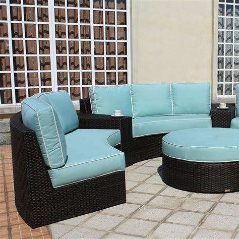 patio renaissance del mar curved sectional summer house