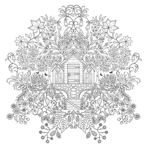 secret garden coloring pages to print enchanting coloring books for grown ups by johanna basford