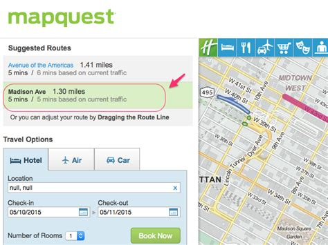 Printable Step By Step Driving Directions | how to get driving directions on mapquest next generation