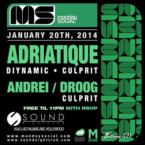 house music hollywood house music duo adriatique playing monday social tonight at sound nightclub in