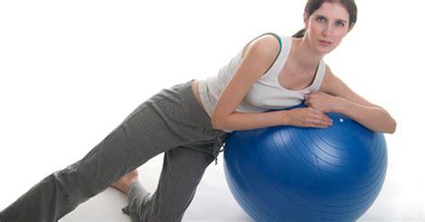 ball exercises  love handles livestrongcom