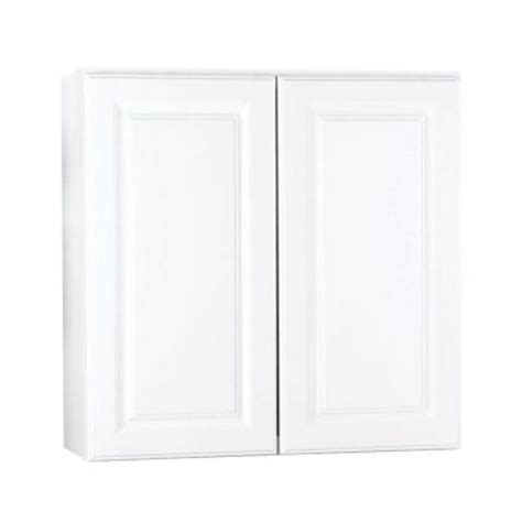 hton bay 30x30x12 in hton wall cabinet in satin white