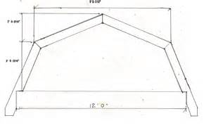 Barn Style Roof by I Am Building A Shed I Want A Barn Style Roof The Shed Is