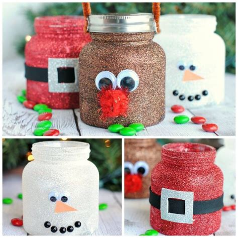 diy christmas glitter jars they are made with baby food