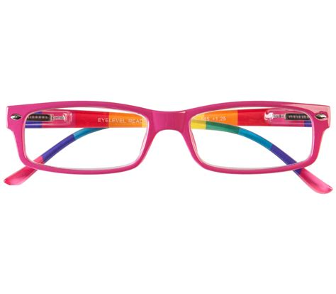 prism multi coloured reading glasses tiger specs