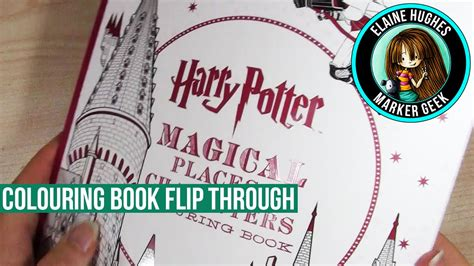 harry potter coloring book magical places harry potter magical places characters coloring book