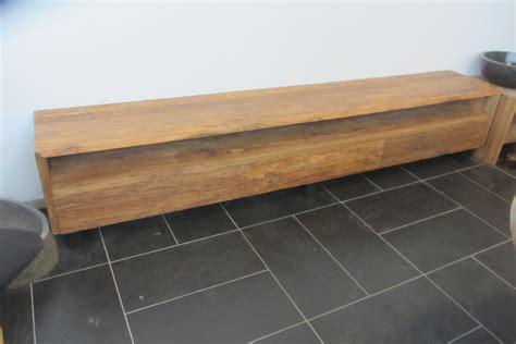 tv meubel 250 cm teak bielzen tv dressoir 250 cm sittard teakwood house