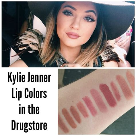 jenner lip colors jenner lip colors in the drugstore rosylipped