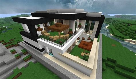 modern home very comfortable minecraft house design modern house with style minecraft build 4 minecraft