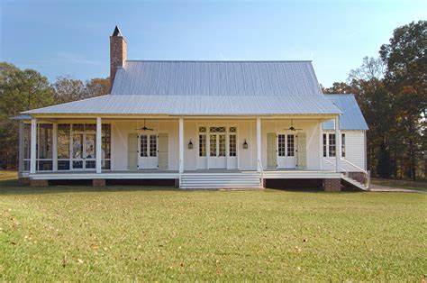 Farmhouse Plans With Porches by Country House Bill Ingram Architect