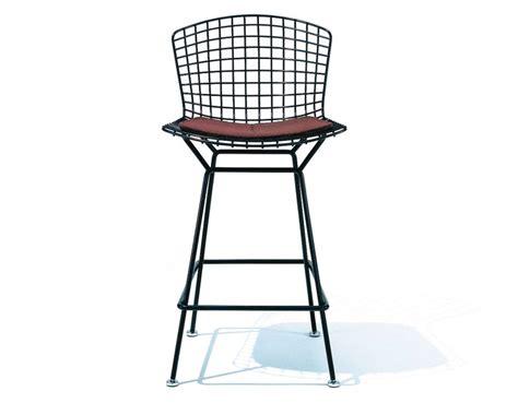Bertoia Bar Stool by Bertoia Stool With Seat Cushion Hivemodern