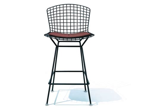 Bertoia Stool With Seat Cushion   hivemodern.com