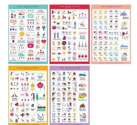 printable notebook stickers free shipping qute annhouse happy days pvc diary sticker