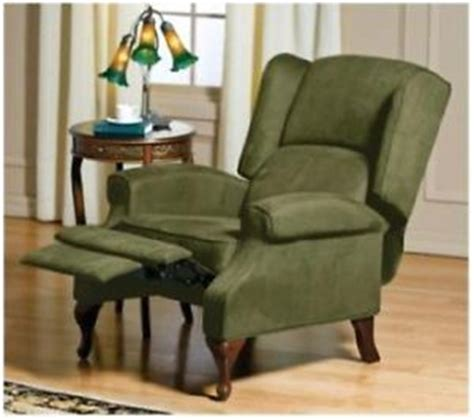 lane recliner slipcovers lane wingback recliner slipcover on popscreen
