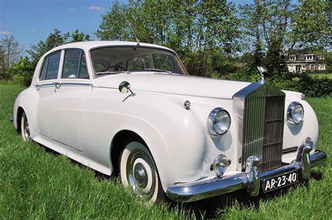 rolls royce van rolls royce trouwauto van de silver cloud serie uit 1956