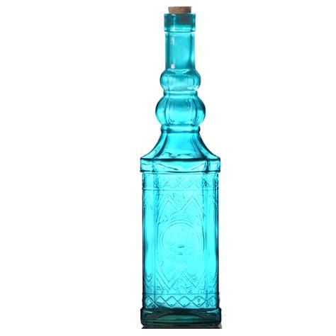 deko flaschen in 4 farben glasflaschen schnapsflaschen - Deko Flaschen