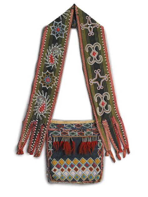beadwork bag delaware beaded cloth bandolier bag lot sotheby s