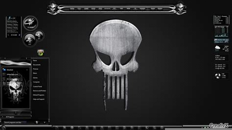 download themes for windows 7 skull all themes for windows 7 punisher theme for windows 7