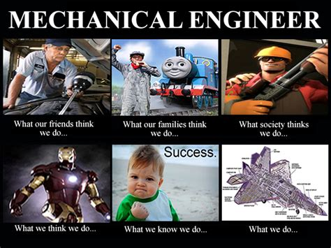 mechanical engineering student what think i do what image 254448 what think i do what i really do your meme