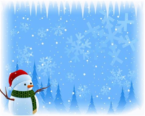 snowman powerpoint template free snowman wallpapers wallpaper cave