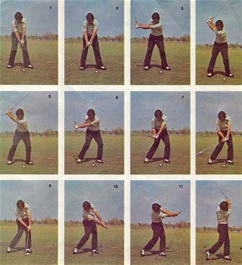 lee trevino swing my daily swing the modern total body golf swing impact