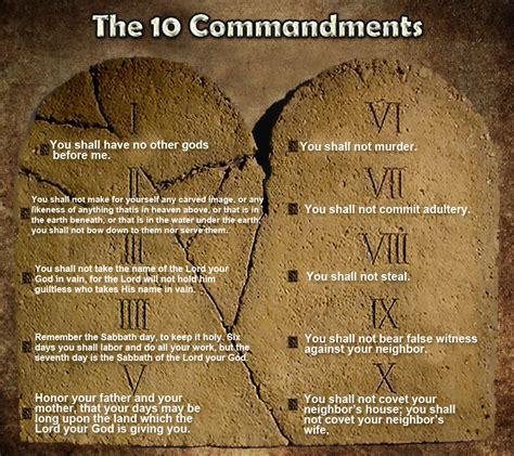 The Ten Commandments 10 commandments bible www imgkid the image kid has it