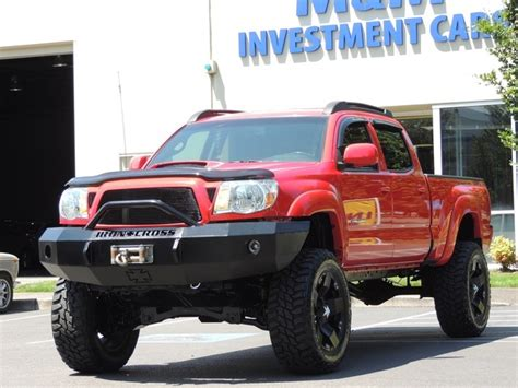 2008 Toyota Tacoma Bed Size 2008 Toyota Tacoma V6 4x4 Trd Pkg Lifted Bed