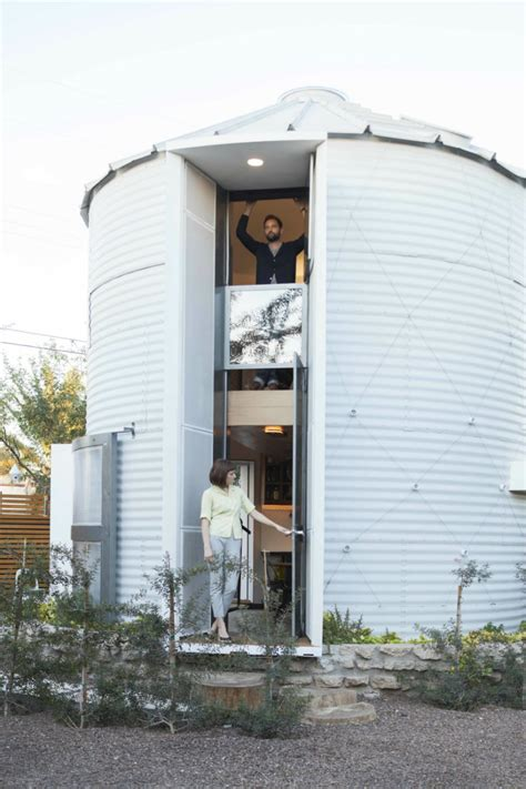 silo house would you live in a little house