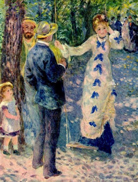 La Balancoire by Billet D 2 Auguste Renoir La Balan 231 Oire 1876