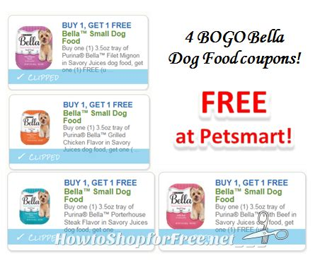 dog food coupon matchups 4 bogo bella dog food coupons how to shop for free with