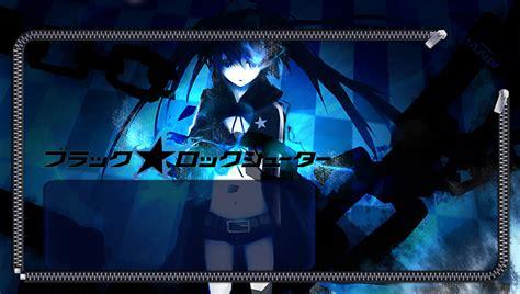 ps vita dark wallpaper ps vita anime lockscreens black rock shooter