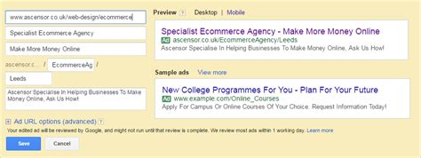 Google Adwords New Expanded Text Ads Ascensor Expanded Text Ads Template