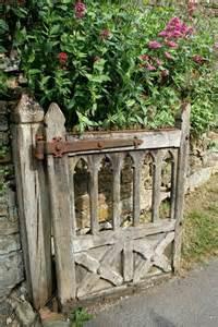 Ideas For Old Gates Old Wooden Gate In The Garden Garden Home Pinterest