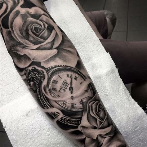 rose and watch tattoo meaning 105 timeless pocket ideas a classic and
