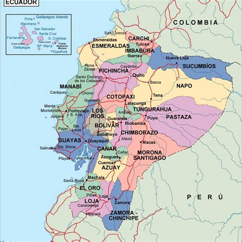 map of equador ecuador political map order and ecuador