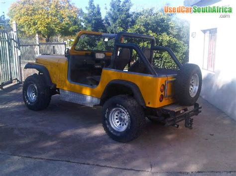 Jeep For Sale In South Africa 1987 Jeep Willys Used Car For Sale In Pretoria East