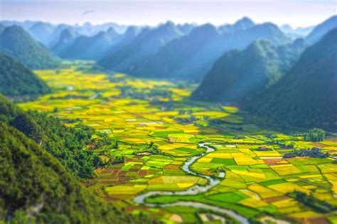 beautiful picture bac son valley viet nam most beautiful picture of the