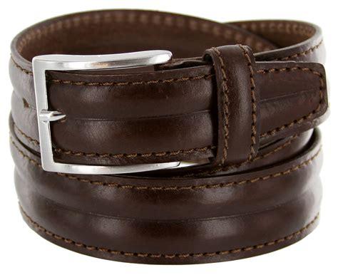 s067 35 s italian leather dress casual belt 1 3 8