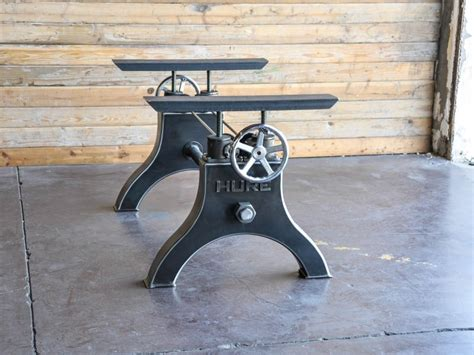 industrial crank table base hure crank base