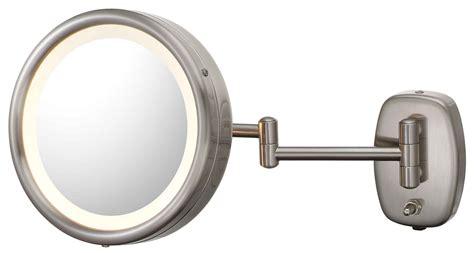 bathroom vanity mirrors brushed nickel fresh round brushed nickel bathroom mirror 20725