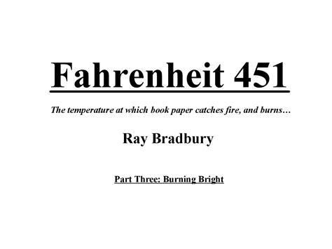 fahrenheit 451 book report fahrenheit 451 beatty quotes quotesgram