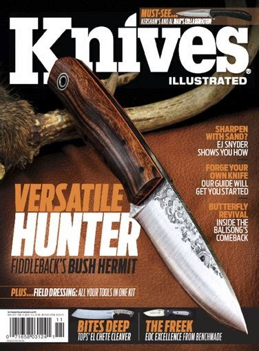 knives illustrated knives illustrated magazine discountmags