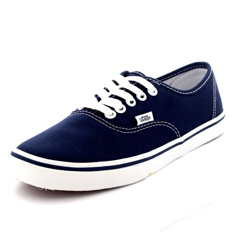 skate sneakers womens womens vans authentic lo pro plimsolls low top skate shoes