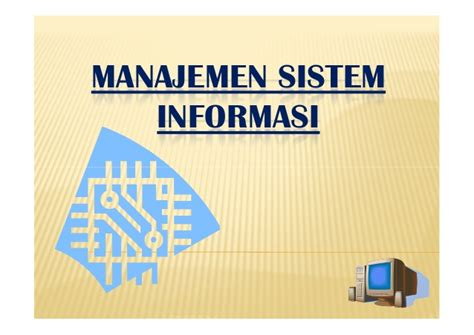 Sistem Informasi Konsep Teknologi Manajemen Soendoro Limi manajemen sistem informasi