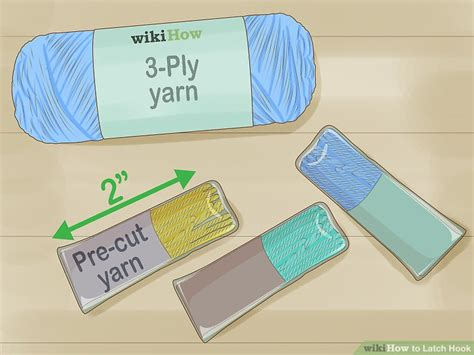 How To Latch Hook 12 Steps With Pictures Wikihow Latch Hook Design Templates