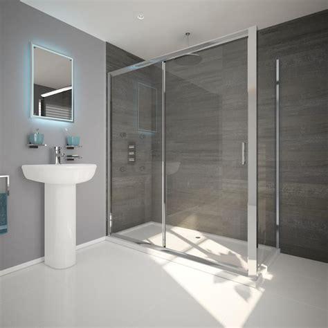 box doccia con piatto box doccia angolare rettangolare scorrevole con parete