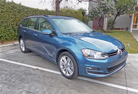 Vw Golf Sticker Lane by 2015 Volkswagen Golf Sportwagen Tdi Tsi Test Drive Review