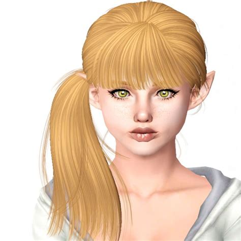 side ponytail sims 3 the sims 3 newsea s breathe side ponytail hairstyle