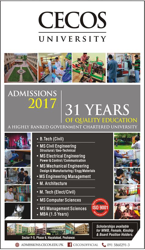 Mba Courses Related To Civil Engineering by Admission Open In Cecos 3 Mar 2017