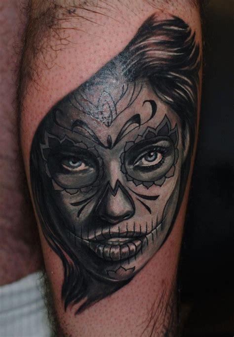 muerte tattoo skull muerte west ink